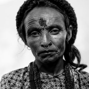 Potraits of peope from Nepal