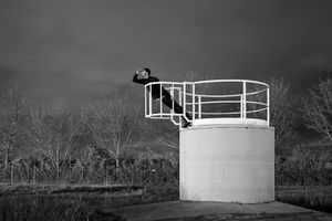 The observation post #2, 2013 © Guillaume Martial