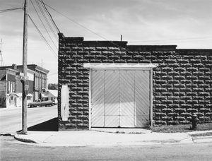 8170.13, former Firestone Garage, Belmont, WI, 1981