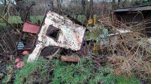 Debris (still lifes) No. 9