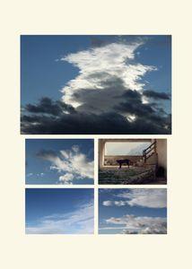 N°144 - La tête dans les nuages - Cerbère - 2012.