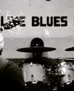 Drummer hat, Chicago Blues Bar, Chicago, 2015