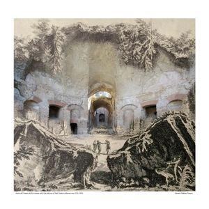 Tempio di Canopo in Tivoli [Vedute di Roma] circa 1778 / 2016