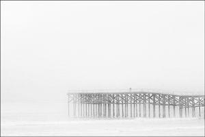Man On Pier
