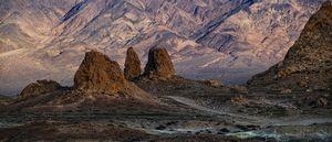road between peaks