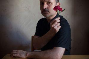 Self-portrait, 2013 © Andreas Tsonidis