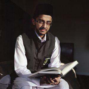 Adeel Shah, Young training Imam, England, UK.