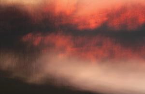 The Sunset at Feringa Lake
