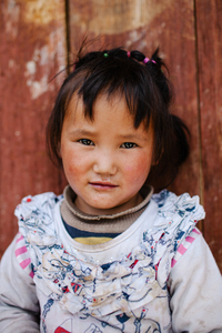 Portrait of rural Chinese Girl #1