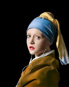 Girl with a Turban