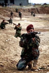 Peshmerga Training to Battle Isis
