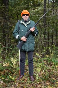 blind deer hunter