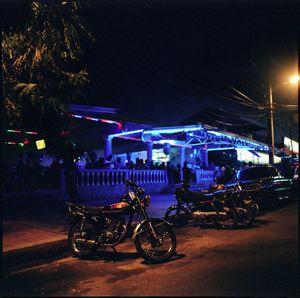 A pickup bar, frequented by Dahiana, along Sosúa's main strip
