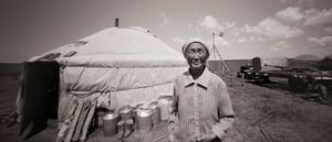 Mongolian Nomad, Inner Mongolia Grasslands, China
