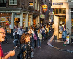 Amsterdam, Oudezijds Voorburgwal, 2015