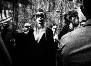 Backstage of Prague Fashion Week