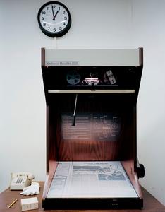 Microfilm Machine. SAUGET, ILLINOIS. 2012