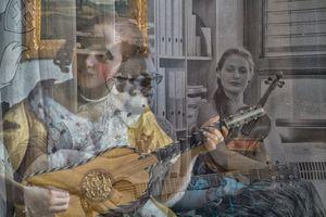 My stolen Vermeer II. Bard and Violist