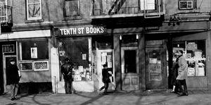 Tenth Street Books, NYC, 1967