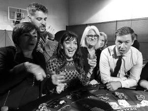 Mom at Casino