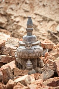 What's left of a temple