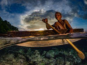 Paddling on Water