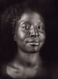"Lorna Simpson by Chuck Close. From ""A Couple of Ways of Doing Something"" (Aperture, 2006)"