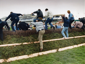 Grand National, Aintree, Liverpool (during IRA bomb scare)