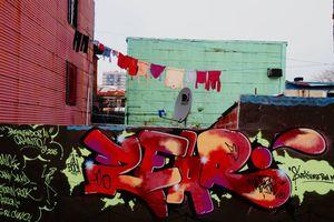 Graffiti and washing