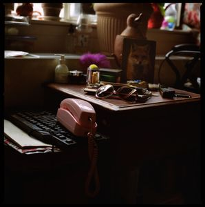 Kasoundra's nightstand.