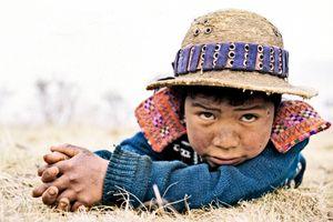 Mayan boy in the Guatemalan Highlands