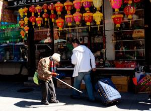 Old lady - Chinatown, Manhattan