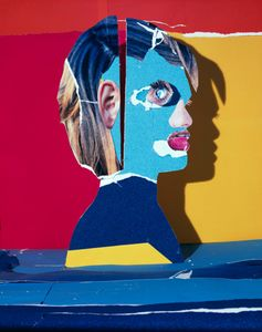 Portrait in Yellow Red and Blue, 2012 © Daniel Gordon