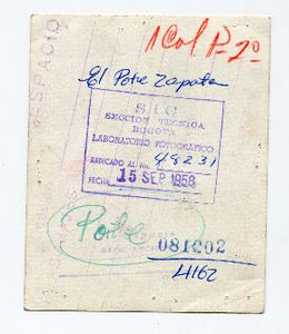 Murder El Pote Zapata`s  Back