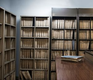 Property Archives, National Land Registry Department                               © Eirini Vourloumis