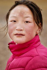 A nomadic girl