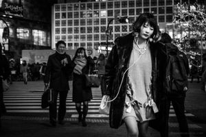 Shibuya friday night loneliness - Tokyo, 2016