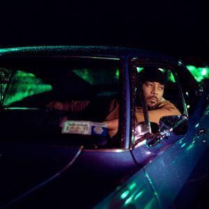 Craig-o sits in his Impala. Mount Vernon, NYC. 2016.