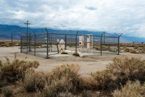 LADWP Groundwater Pump Near Symmes Creek, Owens Valley, CA