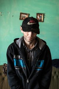 Ušák.  One of the inhabitants of Chanov ghetto and drug addict.
