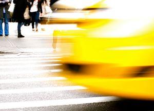 across the yellow