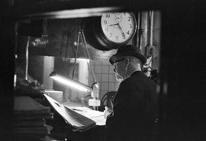 Subway Worker, NYC