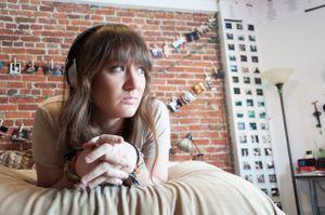 Nina C. in Her Apartment