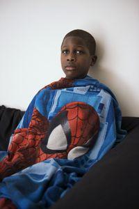 Rodney and Spiderman Blanket