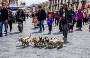 Street in Lhasa