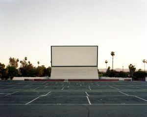 Van Buren drive in, Riverside, CA, USA, 2013