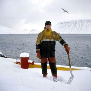 Sigmar Fridjornsson, cod fishing, Grundarfjordur, Iceland.
