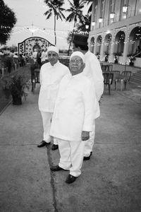 Priests, Parsi Wedding, Bombay, India, 1995