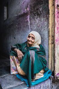 Grandmother@Bikaner