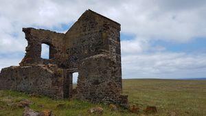 Convict barracks ruins